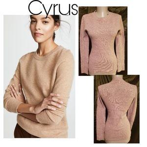Cyrus crewneck sweater.   Sz med